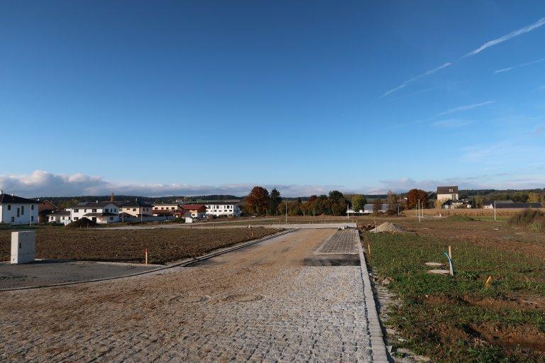 Bild vom Baugebiet am Unterfeld II