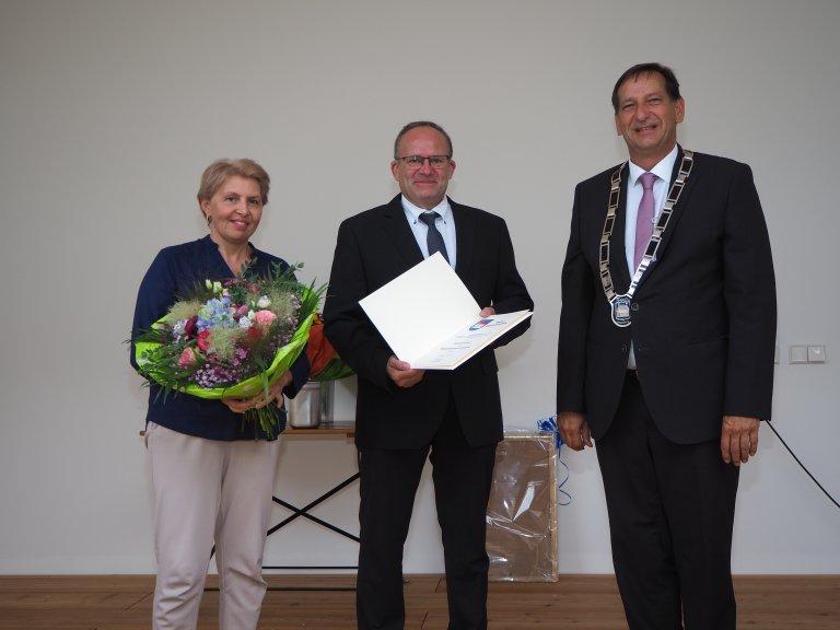Verleihung Bürgermedaille an Michael Schleich