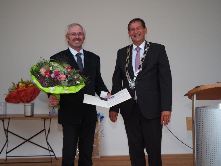 Verleihung Bürgermedaille an Karl Vilsmeier