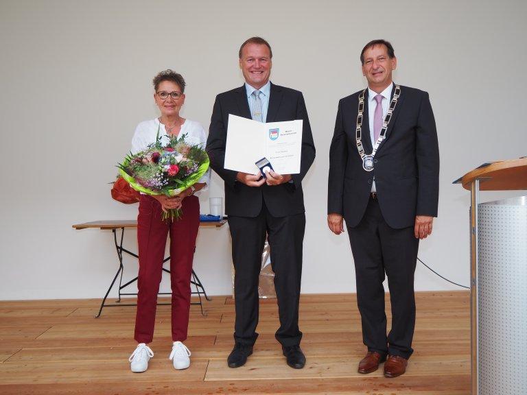 Verleihung Bürgermedaille an Franz Wimmer